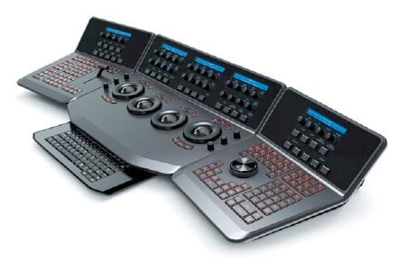 color | black magic resolve control desk 3